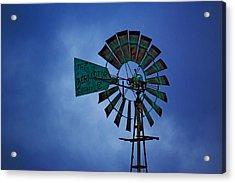 Windmill Acrylic Print by Rowana Ray