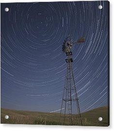 Windmill Stars Acrylic Print