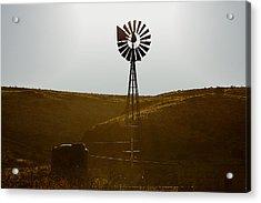 Windmill Water Pump Texas Acrylic Print