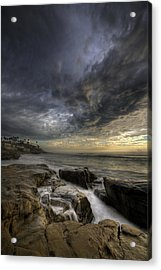 Windnsea Light Found Acrylic Print by Peter Tellone