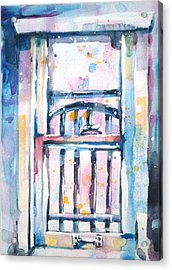 Window 1 Acrylic Print by Kelly Johnson