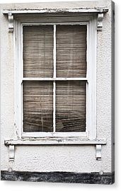 Window And Blind Acrylic Print