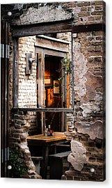 Window Art Acrylic Print