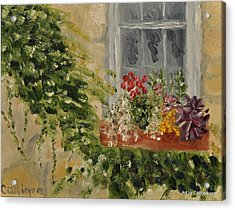 Window Box Acrylic Print