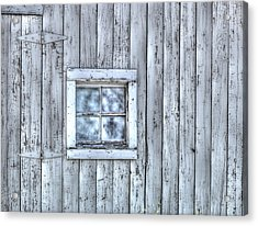Window Acrylic Print by Juli Scalzi