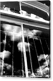 Window Clouds Acrylic Print