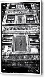 Window Design Acrylic Print by John Rizzuto