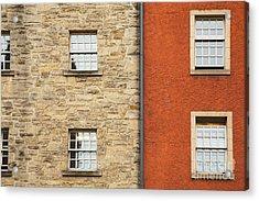 Window Detail Edinburgh Acrylic Print by Jane Rix