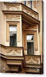 Window Dimensions Acrylic Print by John Rizzuto