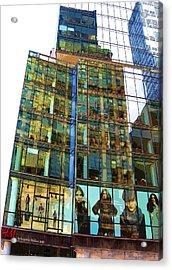 Window Fashion Acrylic Print by Aleksander Rotner