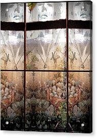 Window Garden Acrylic Print