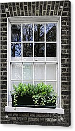 Window In London Acrylic Print