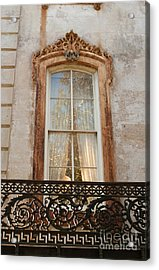 Window In Time Acrylic Print by Jennifer Apffel