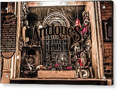 Window In Time Acrylic Print by Ray Congrove