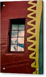 Window Into Lucy Acrylic Print