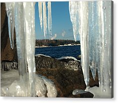 Acrylic Print featuring the photograph Window Into Minnesota by James Peterson