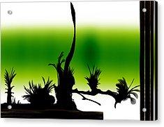Window Acrylic Print by Len YewHeng