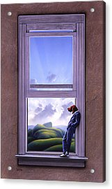Window Of Dreams Acrylic Print