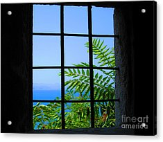 Acrylic Print featuring the photograph Window Of Hope by Andreas Thust