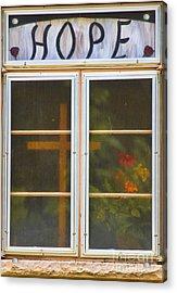 Window Of Hope Acrylic Print