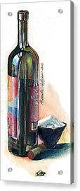 Window On A Bottle Acrylic Print by Alessandra Andrisani