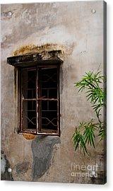 Window On Canvas Acrylic Print