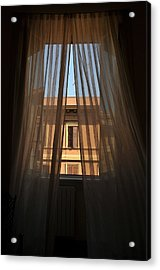 Window On Rome Acrylic Print