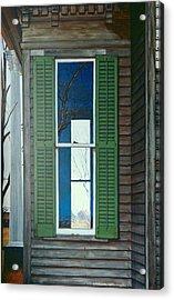 Window On The Past Acrylic Print