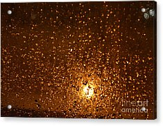 Window Pain Vitoria Spain Acrylic Print by Ty Cook