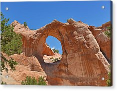 Window Rock In Window Rock Az Acrylic Print