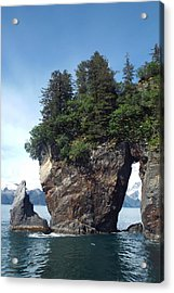 Window Rock Acrylic Print