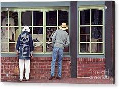 Window Shoppers Acrylic Print