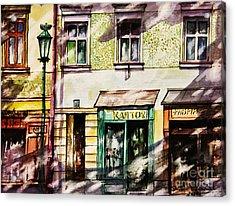 Window Shopping Acrylic Print