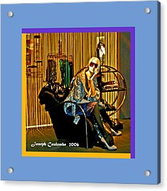 Window Shopping Acrylic Print by Joseph Coulombe
