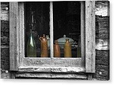 Window Sill Acrylic Print by Jack Zulli