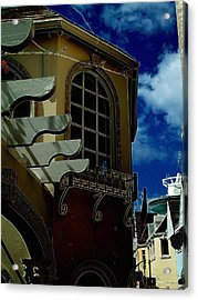 Window St Thomas Acrylic Print by John Holfinger