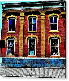Window Stages - Canada Acrylic Print