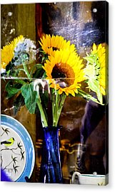 Window Still Life Acrylic Print by James Black