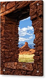 Window To Abo Acrylic Print
