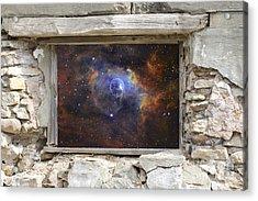 Window To Space Acrylic Print