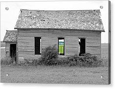 Window To The Future Acrylic Print