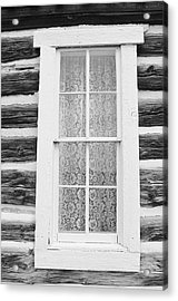 Acrylic Print featuring the photograph Window To The Old West by Diane Alexander