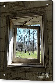 Acrylic Print featuring the photograph Window To The World by Jane Ford