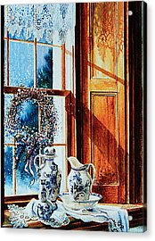 Window Treasures Acrylic Print by Hanne Lore Koehler