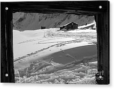 Window View Acrylic Print