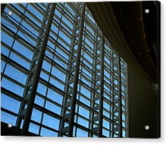 Window Wall At The Adrienne Arsht Center Acrylic Print