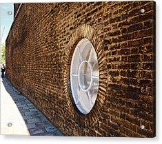 Window Wall Acrylic Print by Nicky Jameson
