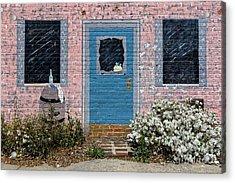 Window With No View Acrylic Print