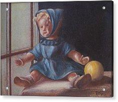 Window World Acrylic Print by Ruthe Dawes