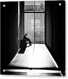 Windowlight Acrylic Print by Michael M.